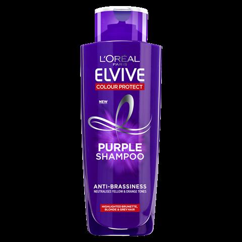 L'Oreal Elvive Colour Protect Anti-Brassiness Purple Shampoo 200ml
