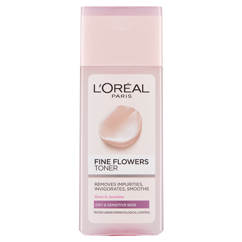 L'Oreal Paris Fine Flowers Cleansing Toner 200ml