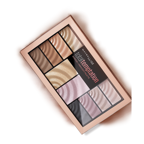 Maybelline Total Temptation Shadow & Highlight Palette