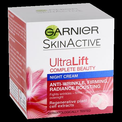 Garnier Ultralift Anti Ageing Night Cream 50ml