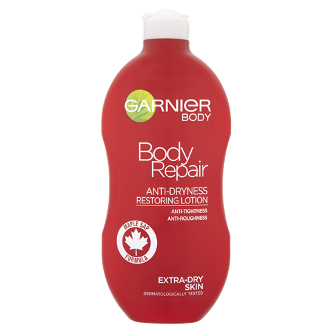 Garnier Body Repair Body Lotion Dry Rough Skin 400ml