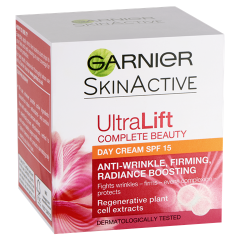 Garnier Ultralift Anti Ageing Day Cream SPF15 50ml