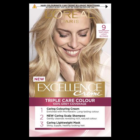 L'Oréal Excellence Crème Permanent Hair Dye (Various Colours)