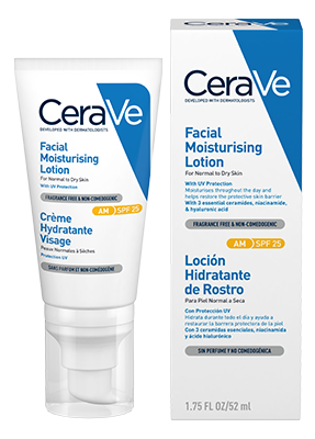 Cerave Facial Moist Lotion With Spf 52ml