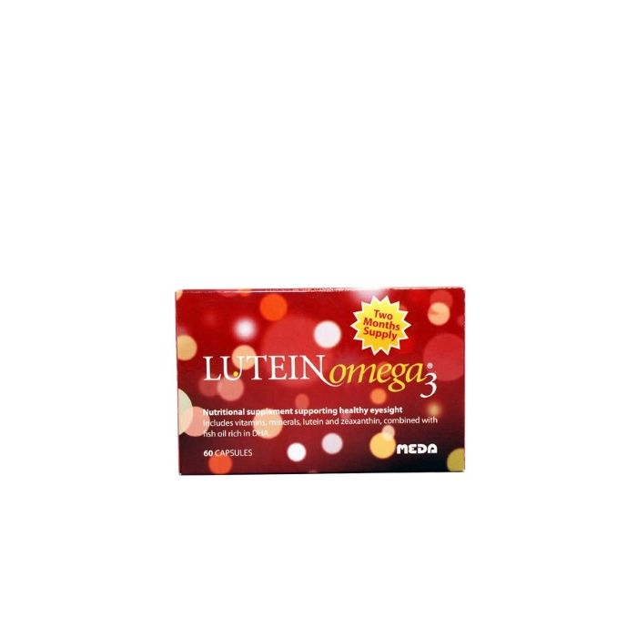 LUTEIN Omega3Ⓡ Capsules (2 Month Pack)