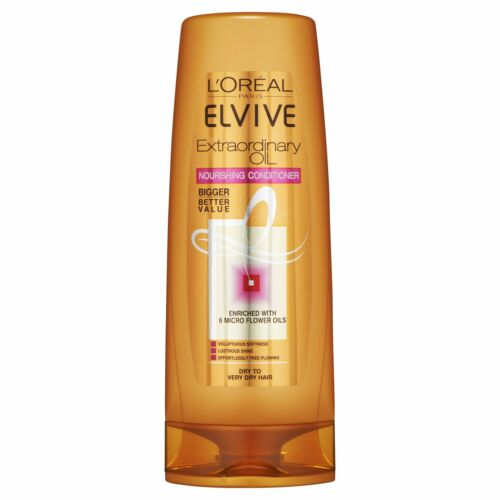 L'Oreal Conditioner By Elvive Extraordinary Oil For Nourishing Dry Hair 500ml